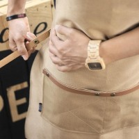 MURAH APRON CANVAS AND SYNTHETIC LEATHER (CELEMEK), BARISTA/CHEF