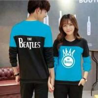 Jual Outwear Couple Sweater Beatles Turkish Murah