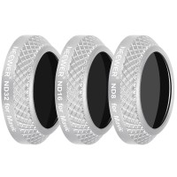 Neewer 3Pcs Lens Filter Kit(ND8+ND16+ND32) For DJI Mavic Pro - White