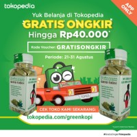 Jual Kopi Hijau Kapsul 1000 mg - Kapsul Green Coffee Murah
