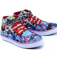 Sepatu Anak Perempuan - Ssepatu Kets Sneaker - Sepatu Sekolah Pesta Gs