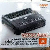 Power JBL 4 Channel GTO 804 EZ Power Amplifier JBL gto804ez Power JBL