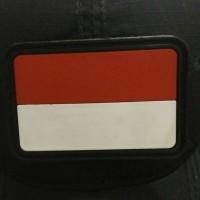 Jual patch perekat bendera Indonesia Murah