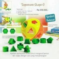 Tupperware shape o toy with dus
