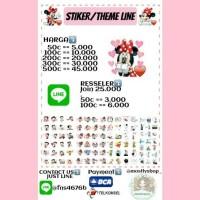 Stiker/Theme LINE