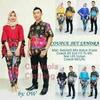 Jual batik couple / lowo / sarimbit lowo sandra Murah