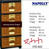 NAPOLLY LEMARI LACI PLASTIK SUSUN 4
