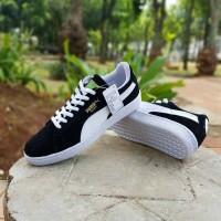 harga Sepatu Puma Suede Classic Black White Casual Running Sepatu Pria Tokopedia.com
