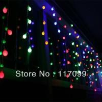Jual Lampu LED Twinkle 7 Warna Kabel Hiasan Pohon Natal Dekorasi Murah