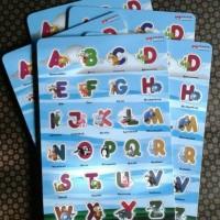 Jual Puzzle Huruf Alfabet Karakter Hewan/Animals Murah