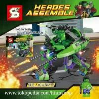 lego Hulk super hero avengers robot mecha SY 248 B
