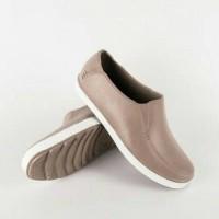 Jual Sepatu Pantofel Karet Pria ATT PS 800 warna Krem Cream Coklat Muda Murah