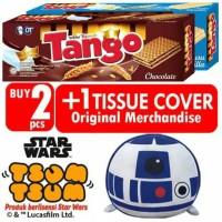 Jual Tango Wafer Cokelat (2 pcs X 176 gr) + Star Wars sum Tsum Tissue Cover Murah