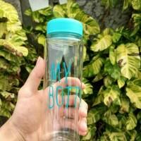 Jual Botol Bening / My Bottle Infused Water + POUCH & Bubble Wrap Murah