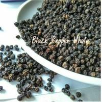 Black Pepper Whole Lada Hitam Utuh Merica Hitam Biji Grade A - 100gr