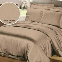 Jual BEDCOVER SET POLOS EMBOS 180 X 200 X 20 KING NO1 - ROSEWELL PEACH 68 Murah