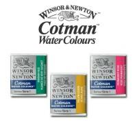 Jual Winsor & Newton Cotman Watercolour Half Pans - Refill Murah