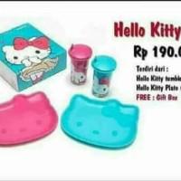 Jual hello kitty set tupperware Murah