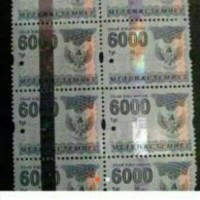 Materai 6000 2006 - 2009 ORIGINAL