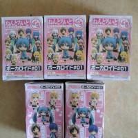 Nendoroid Petit. Vocaloid. 1 set isi 5. Miku,Rin,Len,Meiko,Kaito.