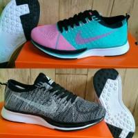 Jual Nike flyknit Racer Women #37 - 41 #Hitam #Peach #Sport #Senam #Joggin Murah