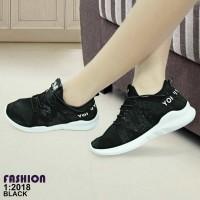 Sepatu Wanita Fashion Sport Korea Import / 2018
