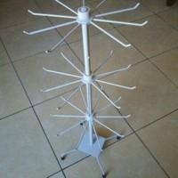 rak gantungan display matahari 3 susun hiasan aksesoris hp kalung