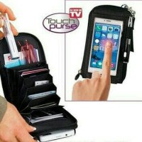 Jual Dompet HP & Kartu MURAH! Multifungsi/ Tas Mini Serbaguna/ Touch Purse Murah