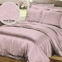 Jual BEDCOVER SET POLOS EMBOS 180 X 200 X 20 KING NO1 - ROSEWELL PEACH 64 Murah