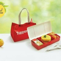Jual Tupperware Lunch Keeper Set with Bag Murah