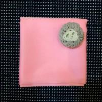 Jual Segiempat Be Hijab Satin Velvet (Pink) Murah