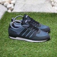 Sepatu Adidas Neo City Racer Dark Grey (ORIGINAL)