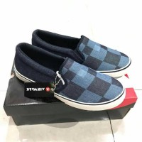 AIRWALK Breza Denim Sepatu Slip On Original