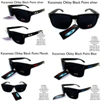 KACAMATA EYEWEAR SUNGLASSES OAKLEY DEVIATION FULL BLACK FULL SET