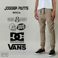 Jual OP4527 Jogger Pant Black Celana Strech Street Skinny KODE Bimb5004 Murah