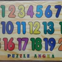 Jual Puzzle Kayu Angka Puzzle Angka Puzzle Huruf Murah