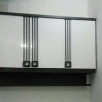 Jual Kitchen set atau Lemari Gantung Dapur Infinity 3 Pintu Rak Bumbu Murah