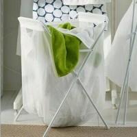 Jual A . Keranjang Cucian / Laundry Bag With Stand ~ IKEA Jall Murah