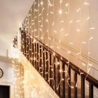 lampu tirai led curtain dekorasi lamp tumblr twinkle light