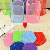 laundry basket polos keranjang baju kotor warna warni