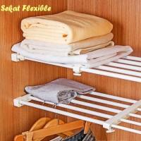 Sekat Lemari Size 32-46 cm Fleksible flexible sekat rak baju
