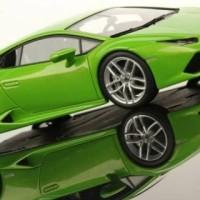 Diecast Miniatur Mobil Maisto 1/24 Lamborghini Huracan Lp 610-4 Green