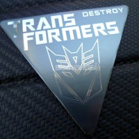 Jual Emblem Transformers Destroy Limited Murah