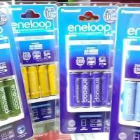 Charger Battery Sanyo Eneloop 100% NEW and ORIGINAL !!! | Free 4batt |