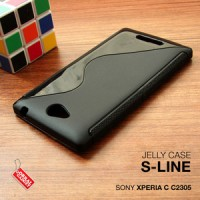 Sony Xperia C C2305 Soft Gel Jelly Silicon TPU Case casing cover armor
