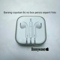 Jual Ori Earpod Earpods iphone ipad ipod macbook 5 5s 6 6s 7 SE plus 3.5mm Murah