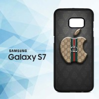 Casing HP Samsung Galaxy S7 Gucci Apple Logo X5099