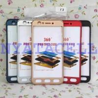 Harga gratis ongkir case protect 360 oppo f3 a77 slim hard ipaky ful | Pembandingharga.com
