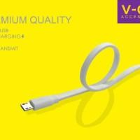 Jual GRATIS ONGKIR Kabel Data Powerbank Vgen 20CM Original Charger Fa  Murah