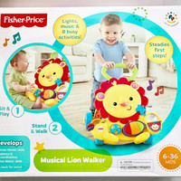 Fisher Price Musical Lion Walker - BRAND NEW